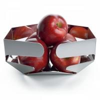 Ваза для фруктов Celata Alessi Полированная сталь