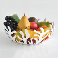 Ваза для фруктов Mediterraneo Alessi 25 см Белая