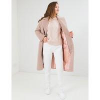 Зимнее женское пальто Season Глория альпака бежевая жемчужина