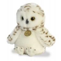 Мягкая игрушка Aurora Белая сова 23 см