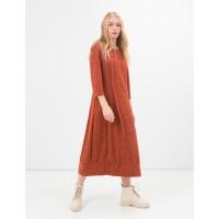Стильное платье в бохо стиле Season кирпичного цвета