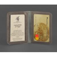 Кожаная обложка BlankNote для ID-паспорта и водительских прав 4.0 темно-бежевая