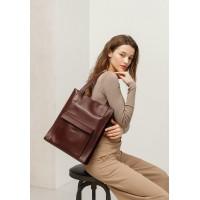 Сумка шоппер BlankNote Бэтси с карманом Краст - BN-BAG-10-1-vin