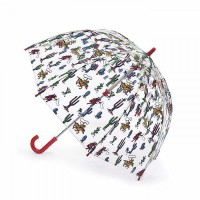 Детский зонт-трость прозрачный Cath Kidston by Fulton C723 Funbrella-2 Desert Cowboy