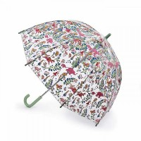 Детский зонт-трость прозрачный детский Cath Kidston by Fulton C723 Funbrella-2 Fantasy Forest