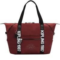 Женская сумка Kipling ART M Maroon Black KI2522_T31