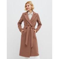 Удлененное женское пальто Season Дороти-1 бежевого цвета
