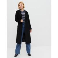 Удлененное женское пальто Season Дороти-1 черного цвета