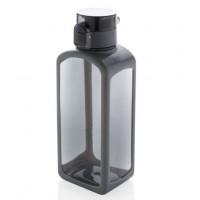 Квадратная вакуумная бутылка для воды XD Design 600мл черная