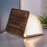 Светильник-книга Smart Book Gingko мини дерево орех