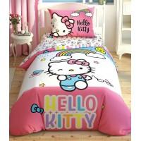 Постельное бельё Tac Disney Hello Kitty Rainbow подростковое