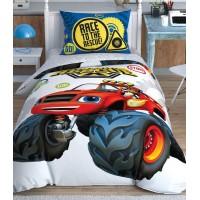 Постельное бельё TAC Disney Blaze Road Rescue подростковое