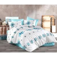 Комплект постельного белья Majoli Cinetic v1 Grey 200x220