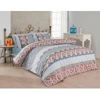 Комплект постельного белья Majoli Bohem Beige 200x220