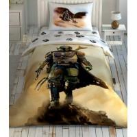 ККомплект постельного белья Tac Disney Jurassic World Camp подростковое