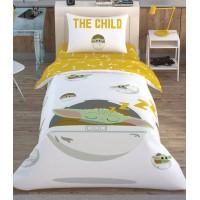 Комплект постельного белья Tac Disney Star Wars The Child подростковое