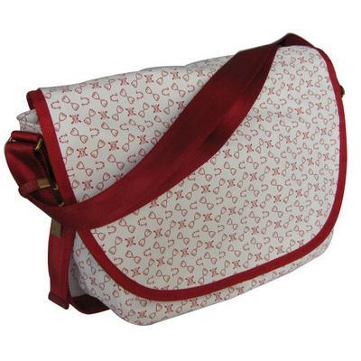 Женская сумка Wanlima 967-60 бело-красная