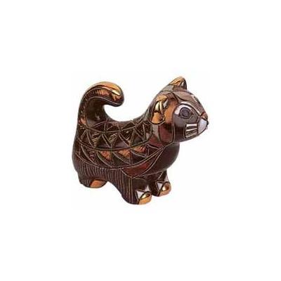 Керамическая фигурка Кот Черный De Rosa Rinconada