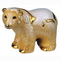 Керамическая фигурка Белый Медведь DE ROSA RINCONADA
