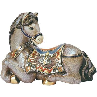 Керамическая фигурка Конь отдыхающий De Rosa Rinconada