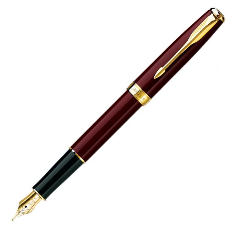 Шариковая ручка Parker Premier DeLuxe K562 Chiselling GT чернила синие S0887960