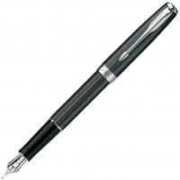 Перьевая ручка PARKER Chisslled Carbon PT
