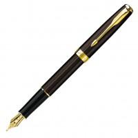 Перьевая ручка PARKER Chiselled Chocolate GT