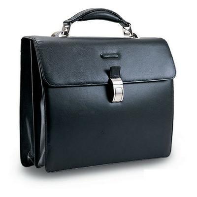Мужской кожаный портфель на два отделения с отделением для ноутбука Piquadro