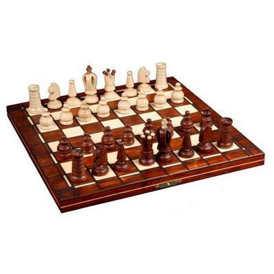 Шахматы Wiegel Mini Royal коричневые 2016