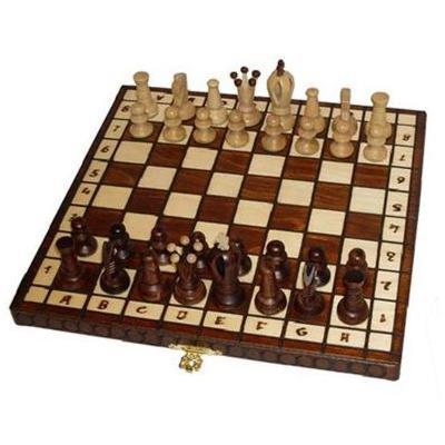 Шахматы Wiegel Royal-30 коричневые 2019