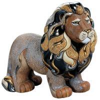 Керамическая фигурка Лев - Король Джунглей DE ROSA RINCONADA